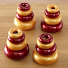 Marvellous Metallics Coloured Stacking Donuts 16pk  small