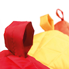 Toddler Quilted Beanbags 6pk  small