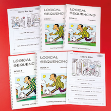 Logical Comprehension Sequencing Work Book 4pk  medium