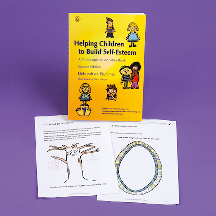Helping Children to Build Self Esteem Book  large