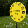 Friendship Stop Playground Sign  small