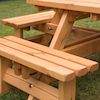 Octagonal Junior Height Picnic Bench  small
