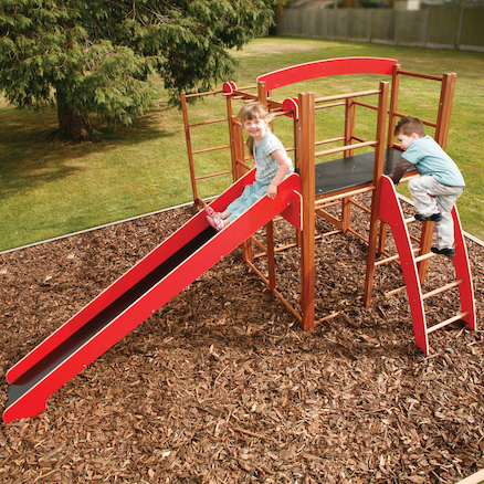 Outdoor Climbing Frame and Monkey Run Multi Buy  large