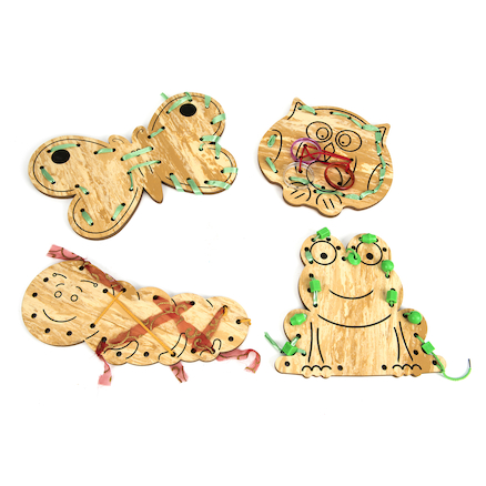 Animal Design Outdoor Lacing Boards  large