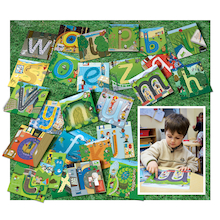 Plastic Alphabet Pathway Mats  medium