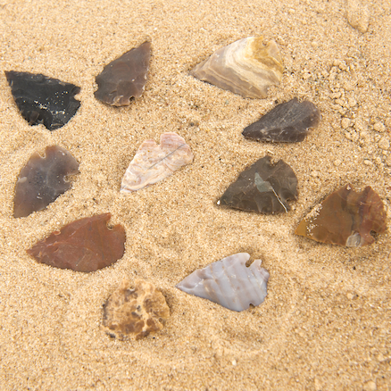 Stone Age Arrowheads Class Pack 30pk  large