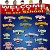 Multilingual Welcome To Our School Sign  small