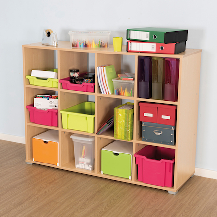 Bubblegum Open Shelving Storage Cubes  large