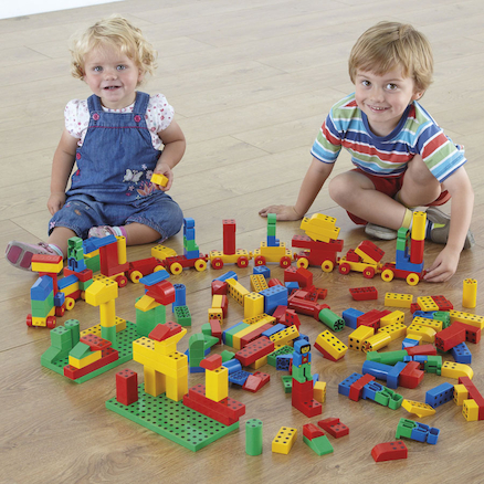 Magnetic Brick Construction 202pcs  large