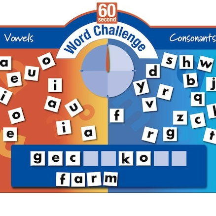 Outdoor 60 Second Word Challenge Game 81 x 65cm  large