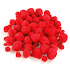 Red Pom Poms Assorted 100pk  small