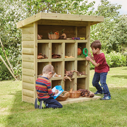 Outdoor Wooden Storage Unit W1.2 x H1.5m  large