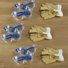 Goggles and Gloves 9pcs  small
