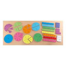 Foam Magnetic Fraction Tiles Pack 106pcs  medium