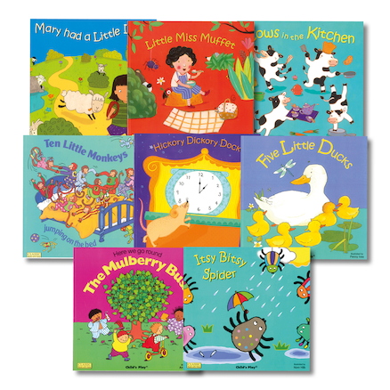 Nursery Rhyme Books 8pk  large