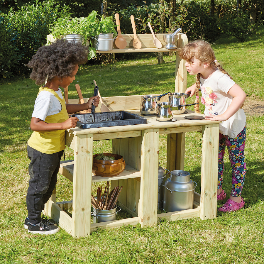Messy Kitchen Pictures: Buy Outdoor Wooden Messy Mud Kitchen