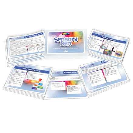 Sensory Den Activity Cards  large