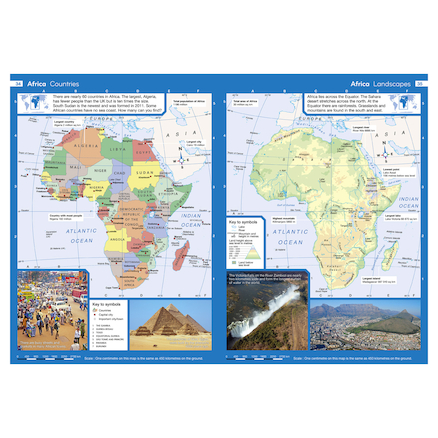 Collins Junior World Atlases KS2  large