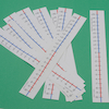 Dry Wipe \-10 to +10 Table Top Number Lines 10pk  small