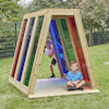 Outdoor Rainbow Pyramid  small