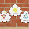 Spanish Weather Vocabulary Playground Signs  small