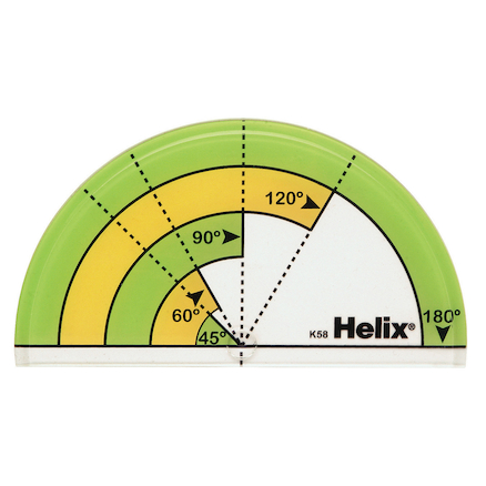 Early Learning Primary 180\u00b0 Protractor 25pk  large