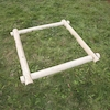 Wooden Mud Pit Frame  small