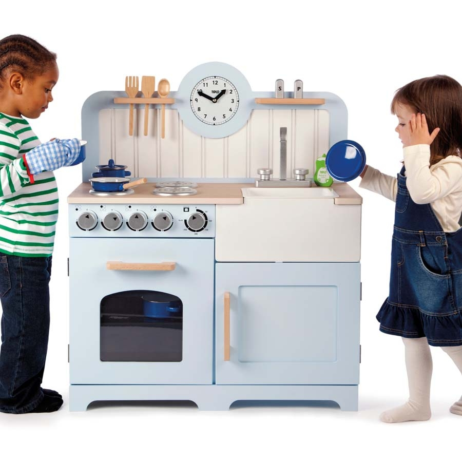 Small Wooden Play Kitchen By Heartwood By Heartwoodnaturaltoys: Buy Role Play Wooden Country Play Kitchen