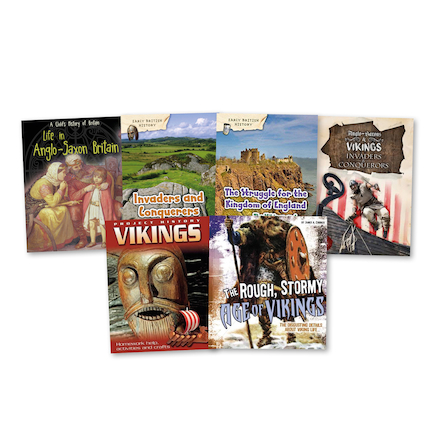 Viking and Anglo Saxon Books 6pk  large