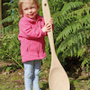 Large Outdoor Wooden Spoon  small