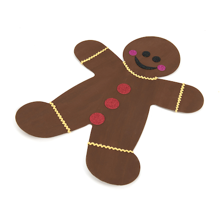 Greyboard Display Gingerbread Men 3pk  large