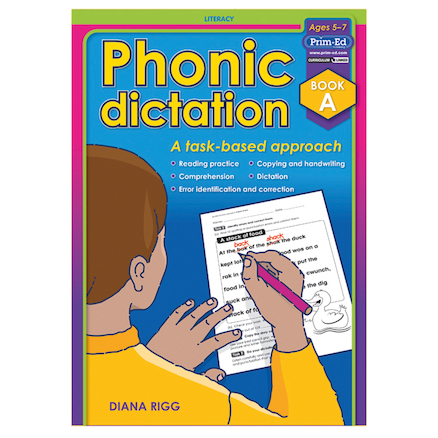 Phonic Dictation Book  large