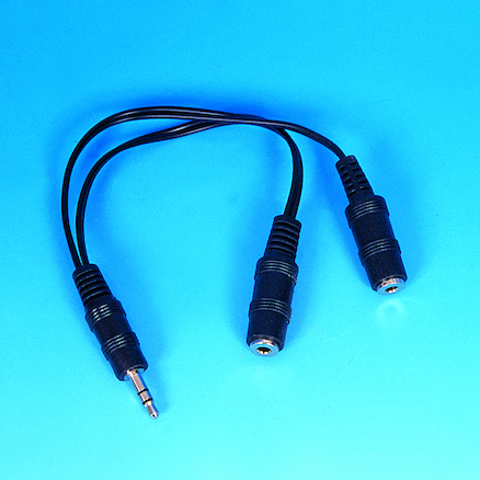 TTS Microphone, Headphone \x26 Splitter Pk  large