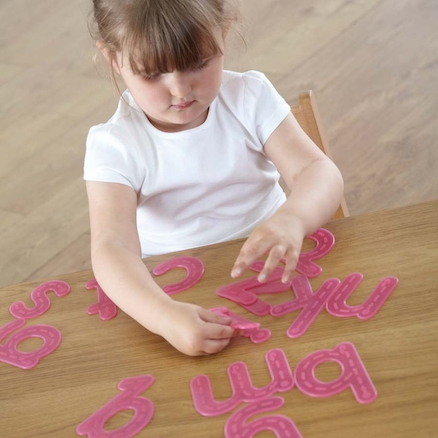 Silicon Tactile Tracing Letters Lowercase 26pk  large