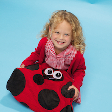 Louis the Ladybird Lap Weight  medium