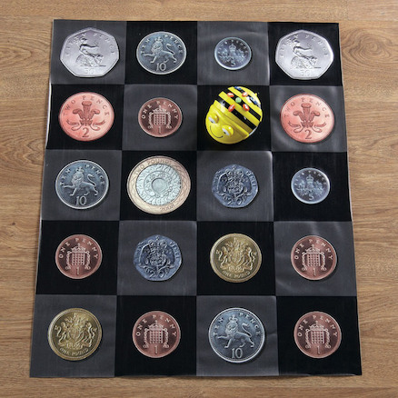 Bee\-Bot\u00ae and Blue\-Bot Coin Mat  large