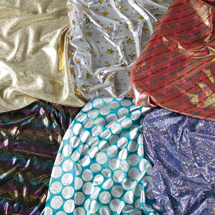 Metallic Print Fabric 6pk  large