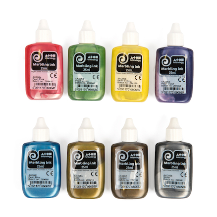 Marbling Inks Assorted 25ml  large