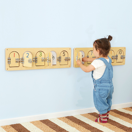 Wooden Discovery Doors with Latches  large