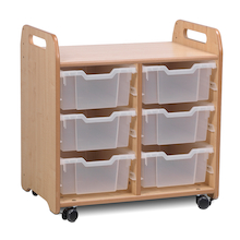Playscapes Two Column Tray Storage  medium