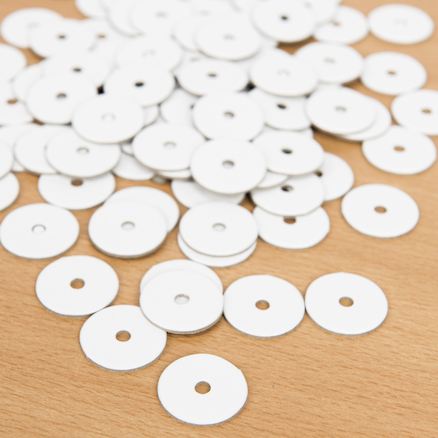 Thick Card Wheels 100pk  large