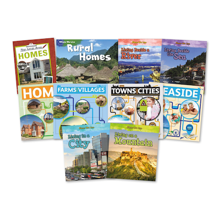 Where We Live Books 10pk  large