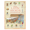 Latin Words Sticker Book  small