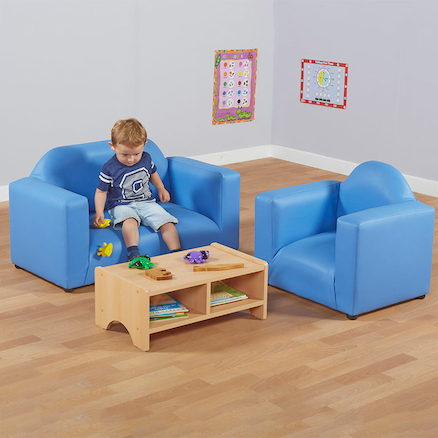 Wooden Beech Toddler Table  large