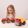 Tractor and Dump Truck Set  small
