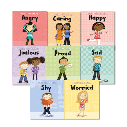 KS1 Feelings Books 8pk  large