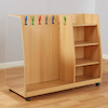 Toddler Wooden Role Play Dress Up Trolley  small