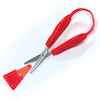 Mini Easi Grip Scissors  small