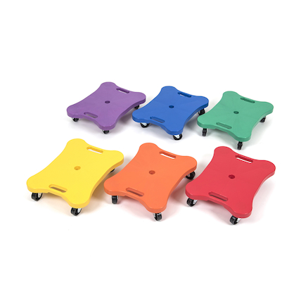 Sit on Scooters 6pk  large