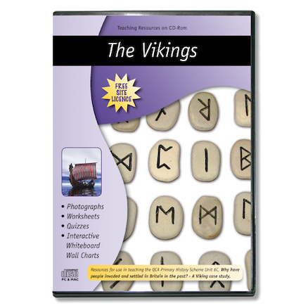 Viking Teaching Resources CD Rom  large